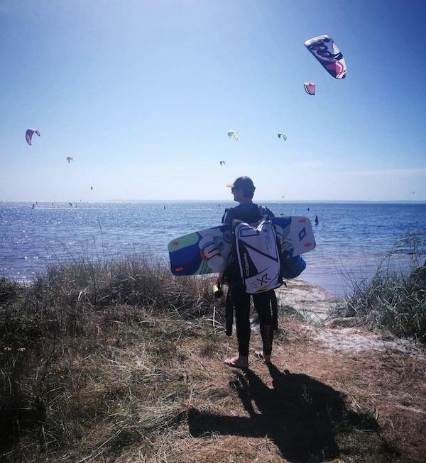 Me on Hel, Polish Kiteboarders' Magic Spot